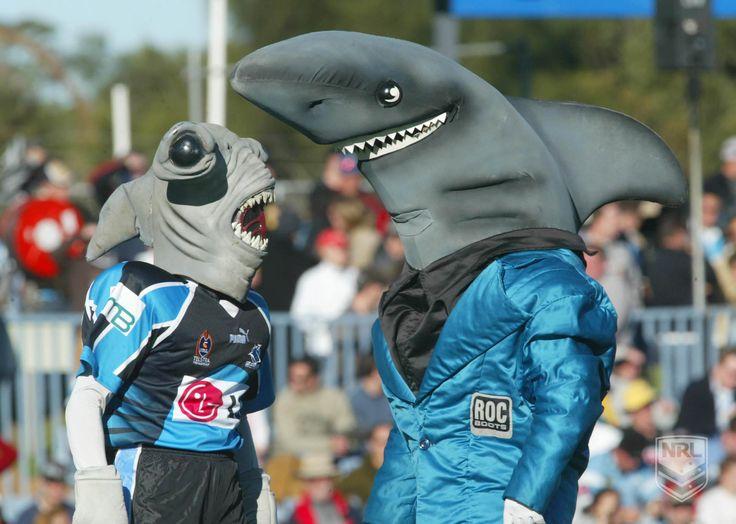 Cronulla Sharks Mascots