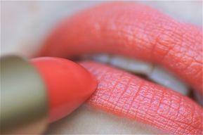 DIY : Rouge à lèvres fait maison (Corail Rouge)