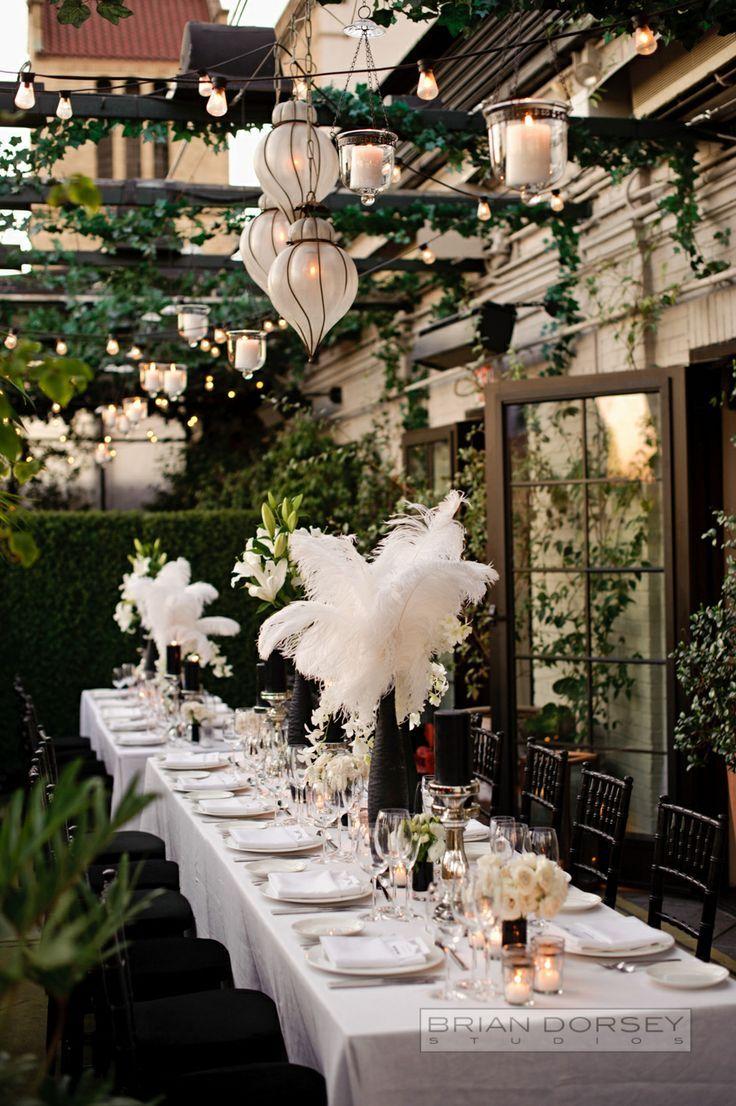 Centros de mesa para boda en jardin espectaculares fotos for Arreglos de mesa para boda en jardin