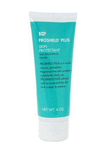 Proshield Plus Skin Protectant - Tube - 4 oz by Healthpoint. $12.00. Provides a moisture barrier. Fragrance free. Comes in a 4oz tube. Proshield Plus Skin Protectant The Proshield Plus Skin Protectant adheres to wet skin as well as zinc oxide, yet removes as easily as petrolatum. The Healthpoint Skin Protectant comes in a clear fragrance-free formula providing a moisture barrier that protects from irritation due to fecal and urinary incontinence.. Save 29%!