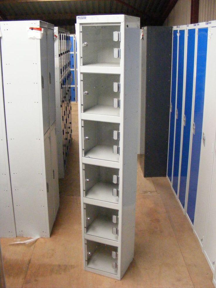 New Metal Lockable Cabinet Cupboard Security Locker School Workplace Gym