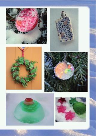 Gör julfint ute. Inspiration från milly & mollys jultidning. Klicka på bilden för att komma till tidningen.