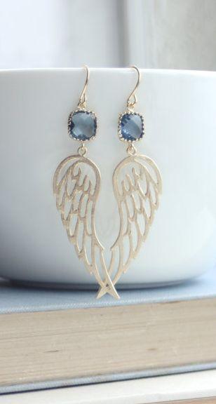 Gorgeous wing earrings