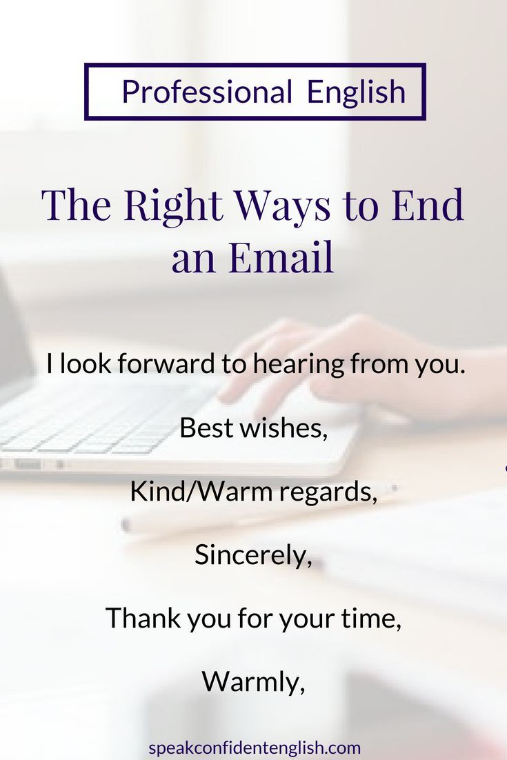 Email end professional to ways an How to