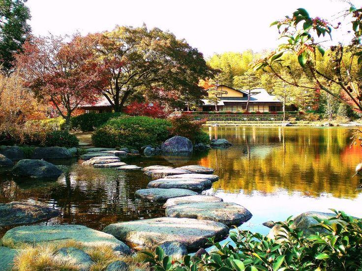 東京都 昭和記念公園 日本庭園 by ちょぴぐ