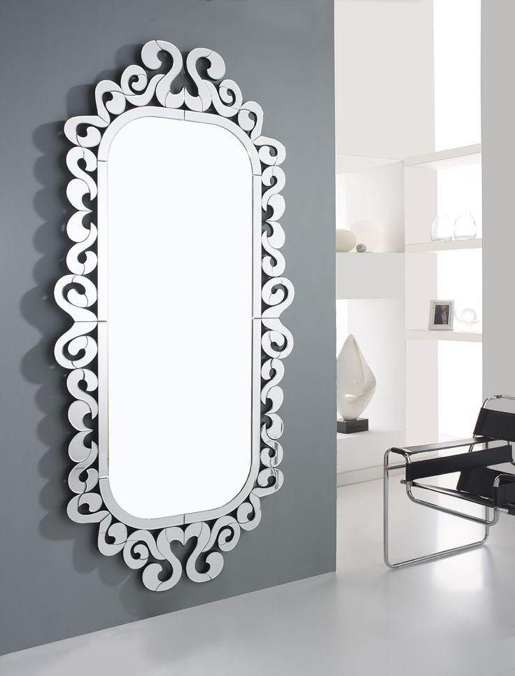 Las 25 mejores ideas sobre espejos decorativos para sala for Espejos con marcos modernos