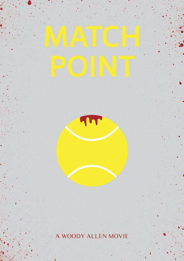 Match Point - minimal movie poster