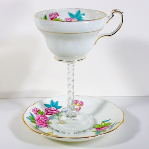 Teacup Wine Glass And Saucer III, $24, now featured on Fab.