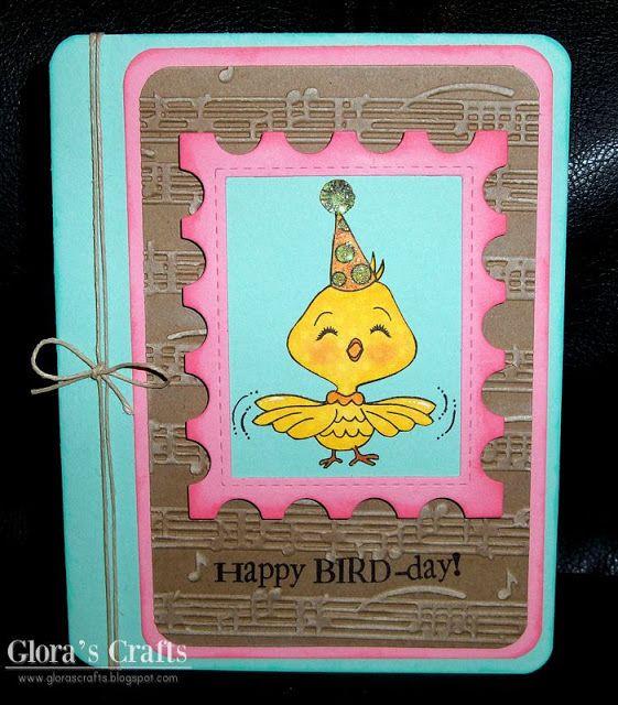 Glora's Crafts: Happy BIRD-day!