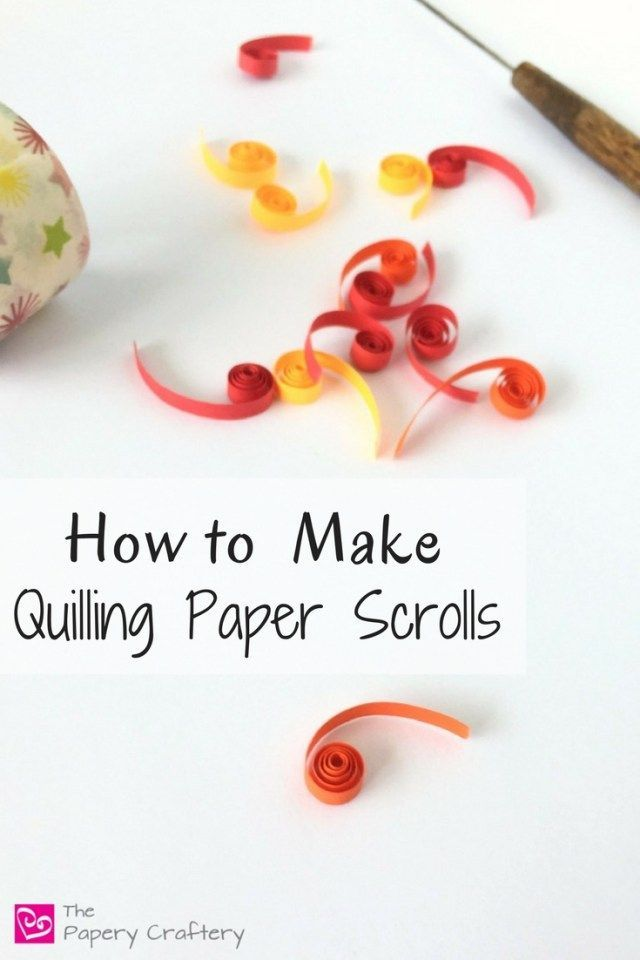 643 best crafty things images on pinterest thrift stores for How to make your own quilling paper