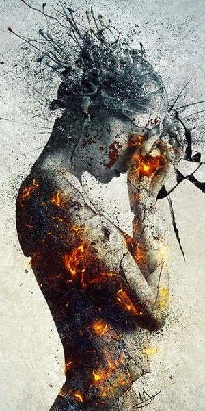 Hay personas que se vuelven frías por la cantidad de cosas que les queman por dentro...