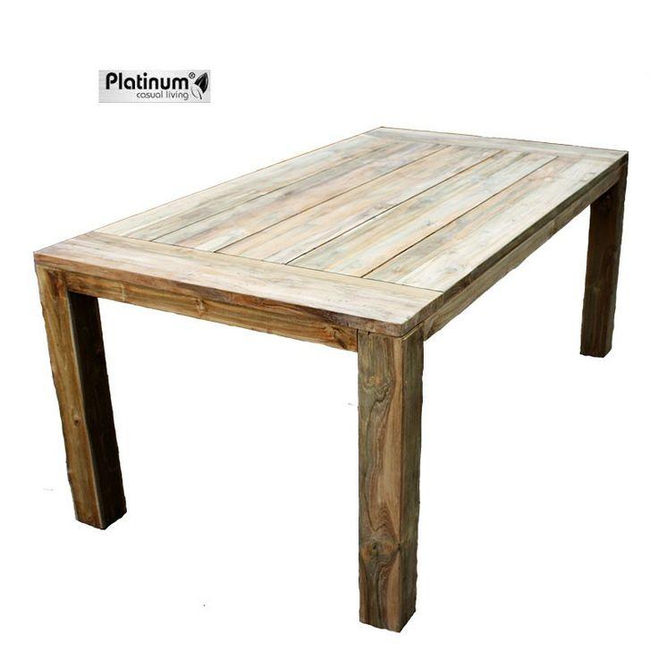 De teaktafel Nimes Dingklik van Platinum Casual Living is een schitterende tafel, met een prachtige afwerking. Deze teaktafel is zeer stevig en robuust en gaat vele jaren mee. #bijzettafel #bijzettafels #tuintafel #tuintafels #Tuintrends #Tuin #Tuinieren #Tuinmeubel #Tuinmeubels #Tuinmeubelen