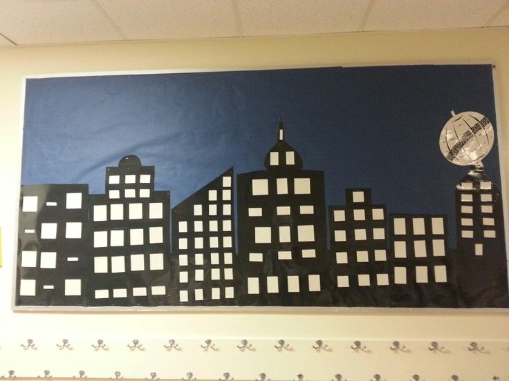 """Superhero """"Accelerated reader"""" board I made for a 3rd grade class"""