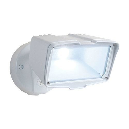 All-Pro FSL2850LW On/Off Activation LED Outdoor Flood Light, White