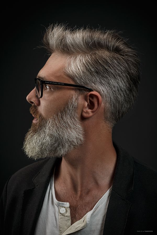 3 bearded man on Behance