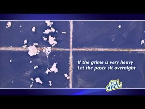 How To Remove Grout Stains With OxiClean
