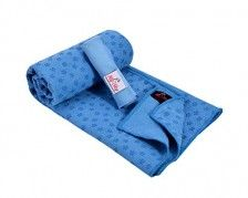"MySky Absorbent Yoga Towel Non Slip 72""x24"" Microfiber Vinyasa Hot Yoga Bikram Mat Towel Hand Towel Set"