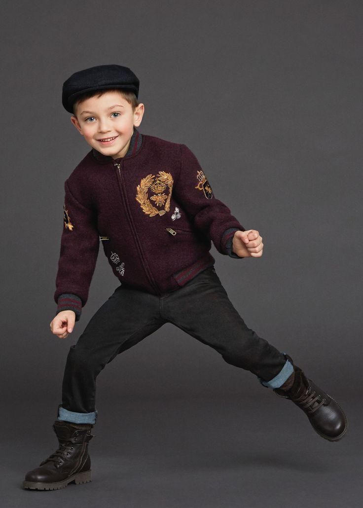 Dolce & Gabbana Children Winter Collection 2016 | clothes ...