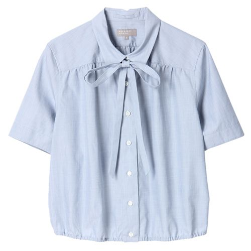 margaret howell chambray cotton blouse