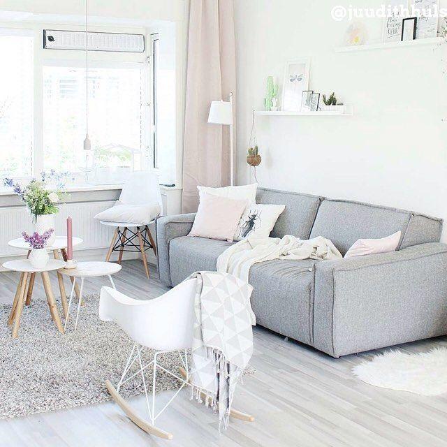 17 beste idee n over roze woonkamers op pinterest roze muren roze bank en roze slaapkamers - Deco woonkamer aan de muur wit ...