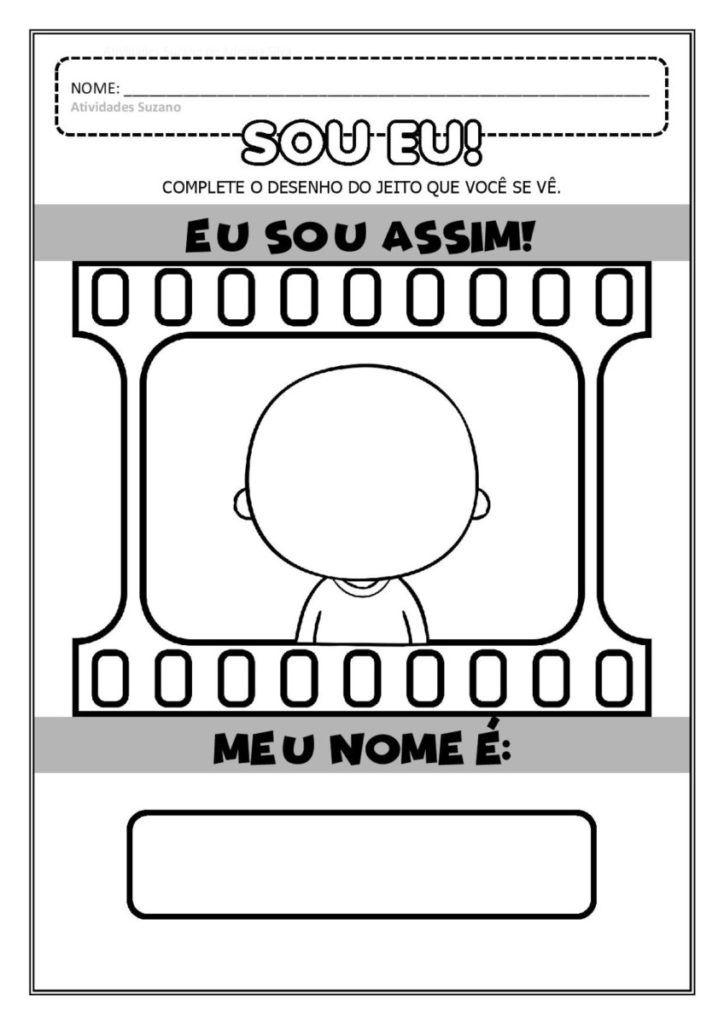 Atividades Para Professores Atividades Projeto Identidade Educacao Infantil Atividades Suzano