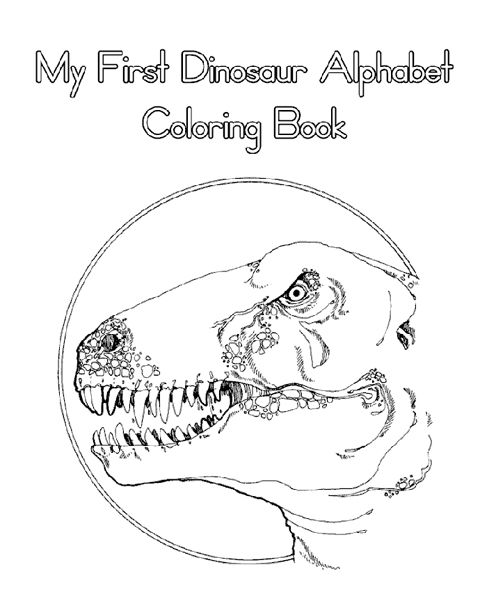 Dinosaurs Alphabet Pages ABC