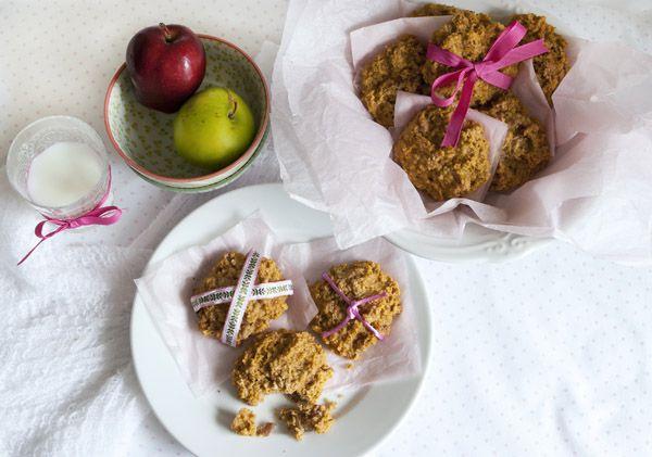 Apples and Oats Gluten Free Breakfast Cookies Recipe