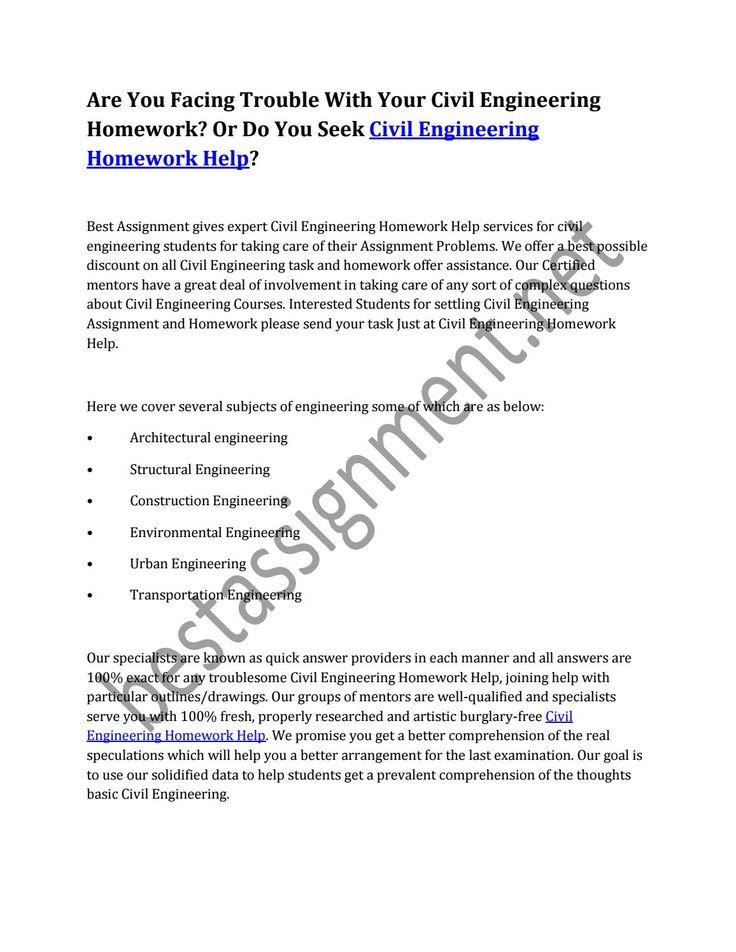 best engineering homework help images homework are you facing trouble your civil engineering homework