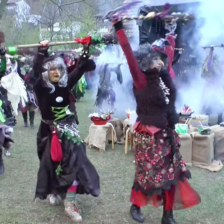 These Witches Dancing to German Reggae Are Having More Fun Than You