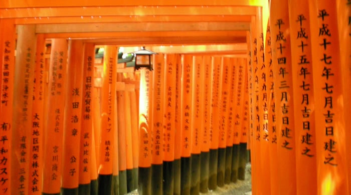 Japan Tori in Kyoto