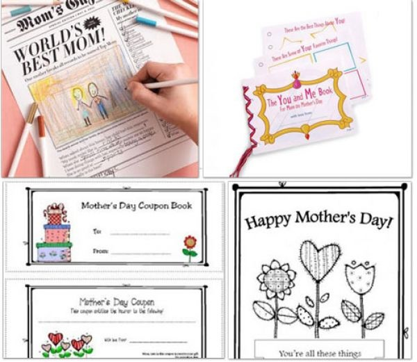 Printable Mothers Day Card Kids  Printable Mothers Day Cards And Poems  Holiday And Seasonal