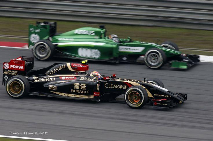 Pastor Maldonado, Lotus, Shanghai International Circuit, Chinese Grand Prix, 2014