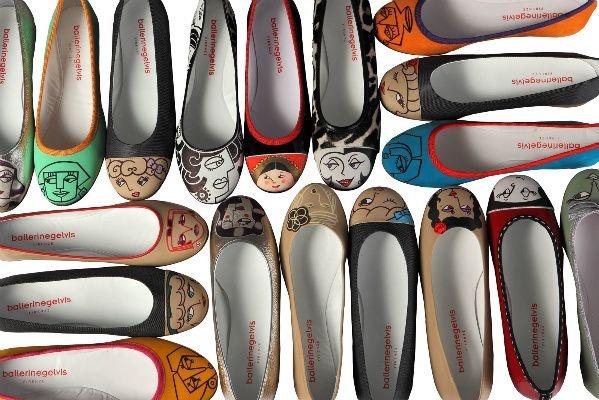 Non sono semplici scarpe, queste ballerinegelvis sono vere opere d'arte da calzare. Rigorosamente Made in Italy, sono realizzate con pelle di prima qualità e dipinte a mano una ad una.