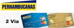 Cartão MasterCard Pernambucanas - 2 Via