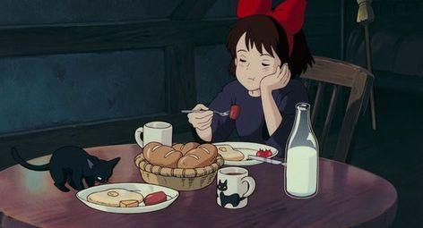 ジブリ飯 見ているだけでお腹が空く ジブリ作品 の食事シーン 16枚 Studio Ghibli Movies Studio Ghibli Kiki S Delivery Service