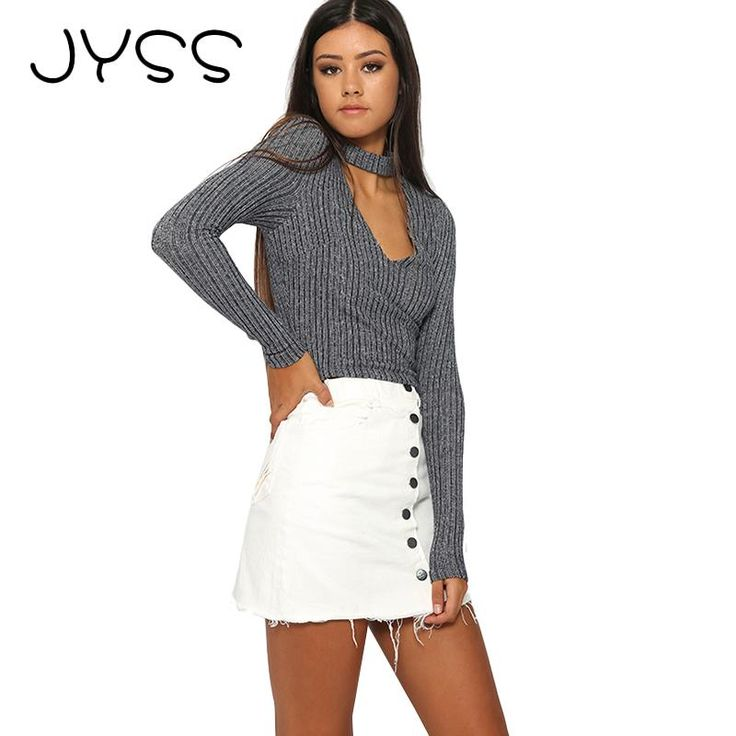 JYSS New arrival Autumn knitting Pullovers for woman Fashion sexy Deep V-neck long sleeve with neckerchief Thin sweater 80799