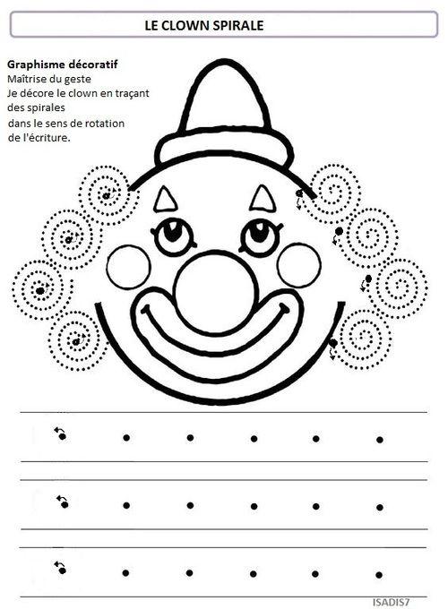 Sur le thème du cirque, la spirale Plus