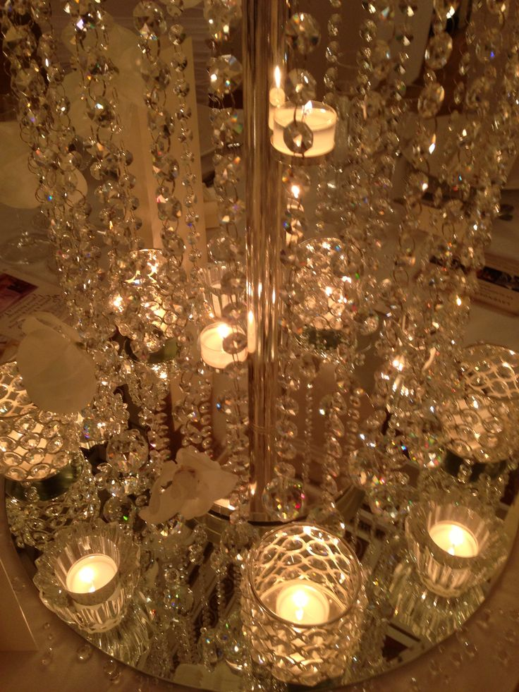 8 Best Crystal Centrepieces Images On Pinterest