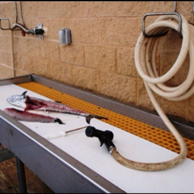 Fish Cleaning Station Need Outlet To Plug In Filet Knife
