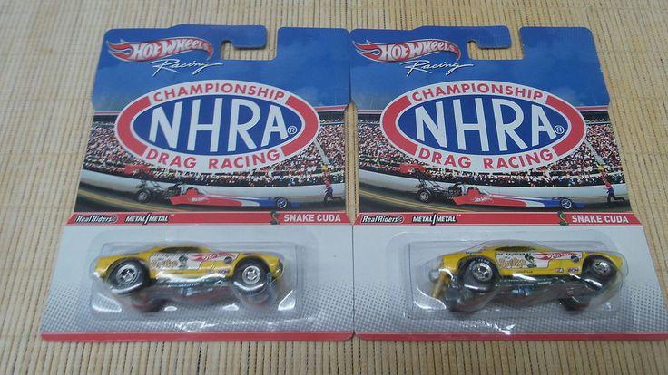 2 Car Lot DON PRUDHOMME Plymouth Snake Cuda Hot Wheels NHRA Racing FC #HotWheels