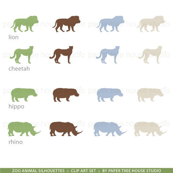 Zoo Clip Art Safari Clip Art Animal Clipart Giraffe Clip Etsy In 2021 Animal Clipart Clip Art Animal Clip Art