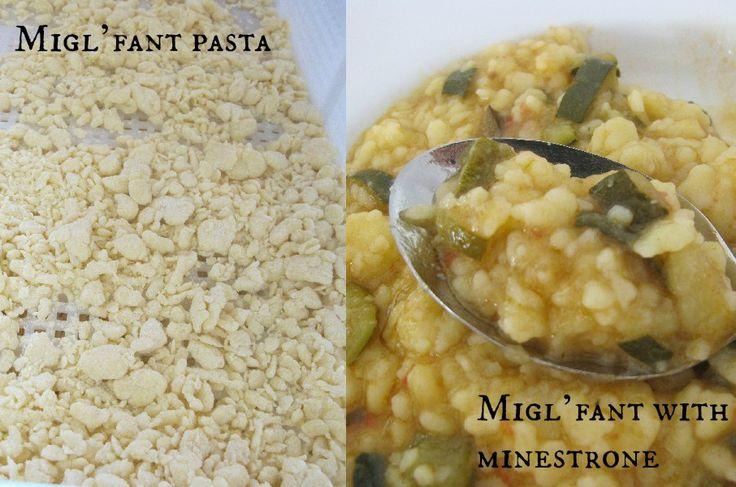 Migl'fanti- flour and water pasta