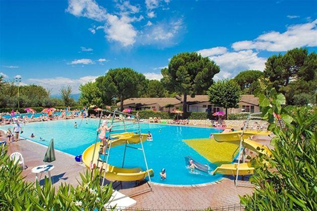 Camping Cisano, Bardolino, Gardasee