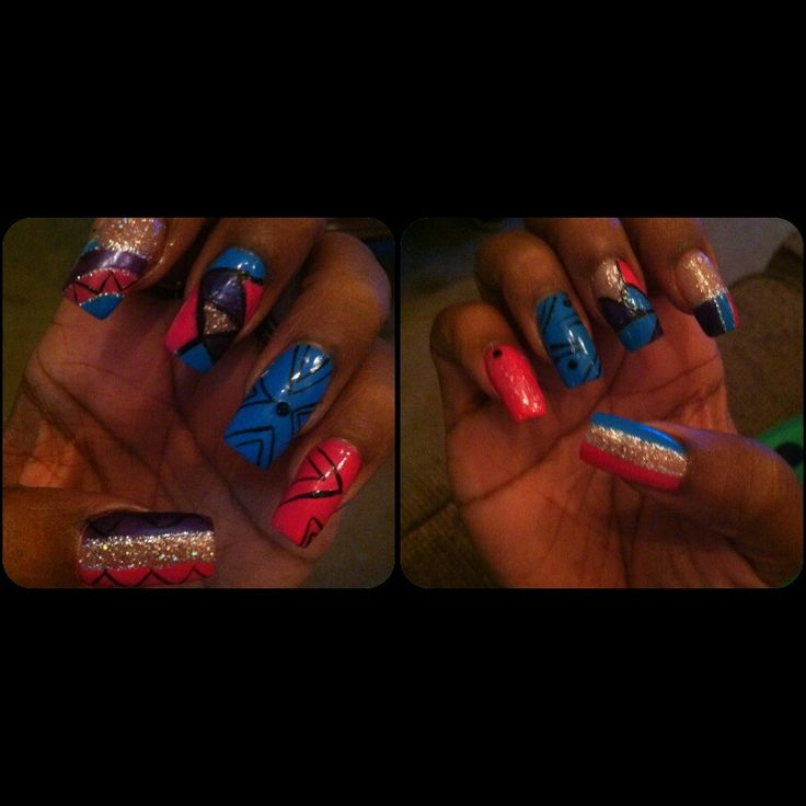 25+ best Nail designs by Me images on Pinterest | Nail art ideas ...