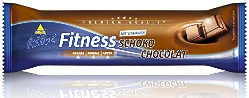 Inkospor ACTIVE Fitness Barre Protéine: Barre chocolatée de 35g, enrichie en protéines et en 7 vitamines. Avec 20% de protéines et 7…