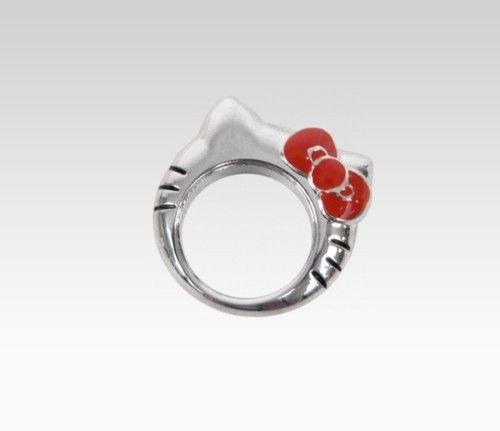 Hello Kitty Die-Cut Head Ring