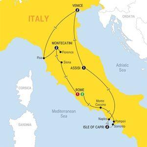Italy Bellissimo - 2015 - USA - Trafalgar Tours