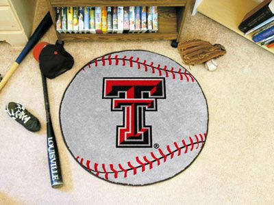 Texas Tech University Baseball Mat