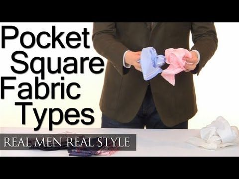 Pocket Square Fabric Types - White - Colored - Paisley - Striped Pocket Squares - Style Tips
