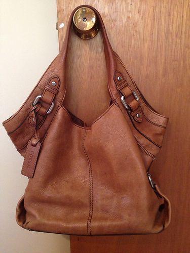 Fossil Purse Leather Hobo | eBay